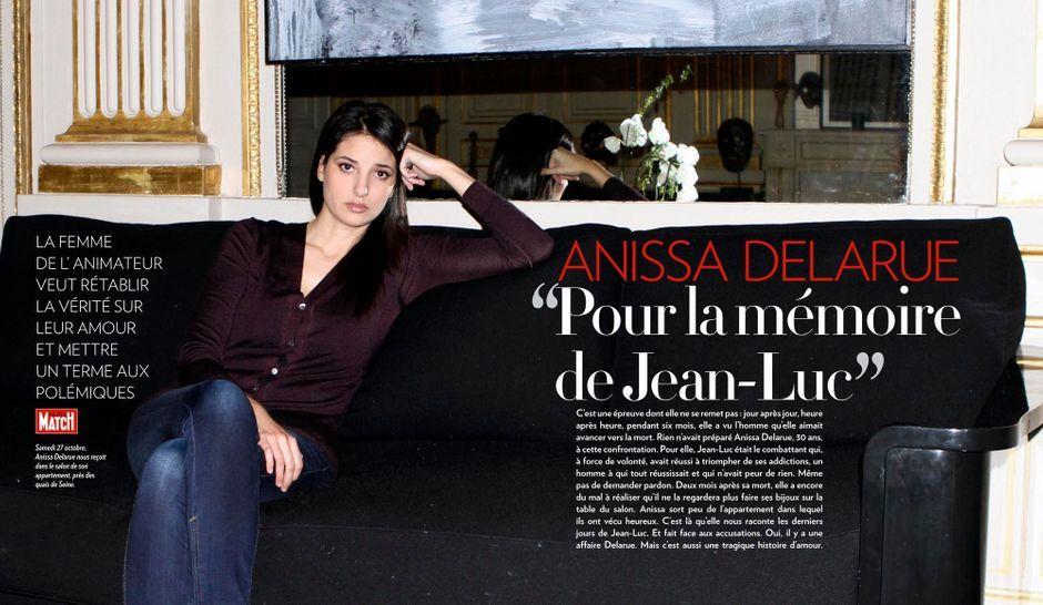 Anissa Delarue Pour la mmoire de Jean Luc