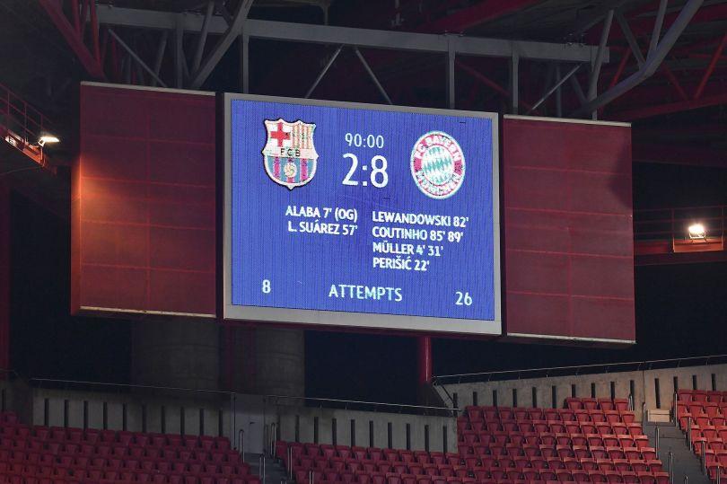 Ligue des champions : le grand huit historique du Bayern face au Barça