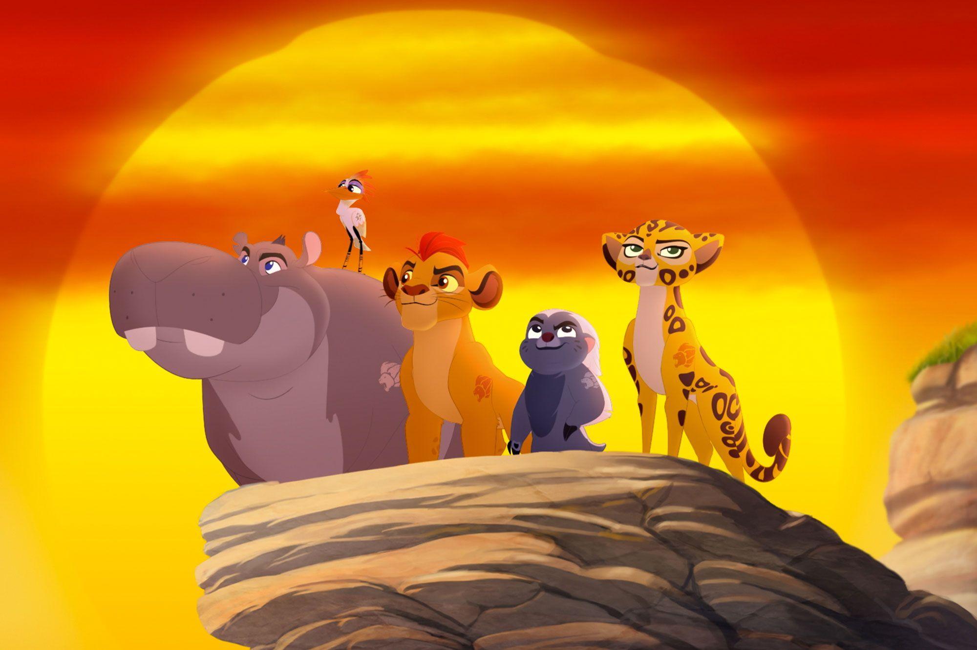 la garde du roi lion un nouveau cri