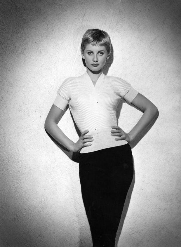 Jill Ireland en 1955. Elle a 19 ans.
