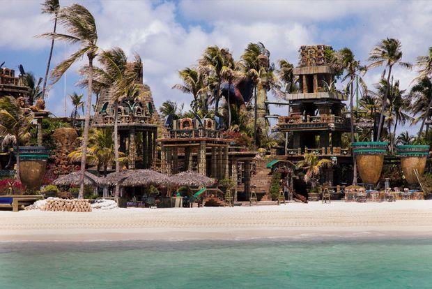 Nygard Cay, doté de plages privées et inspiré de l'architecture maya.