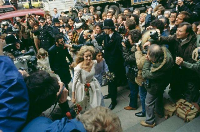 Ringo Starr Barbara Bach Mariage 1981 Photos 15