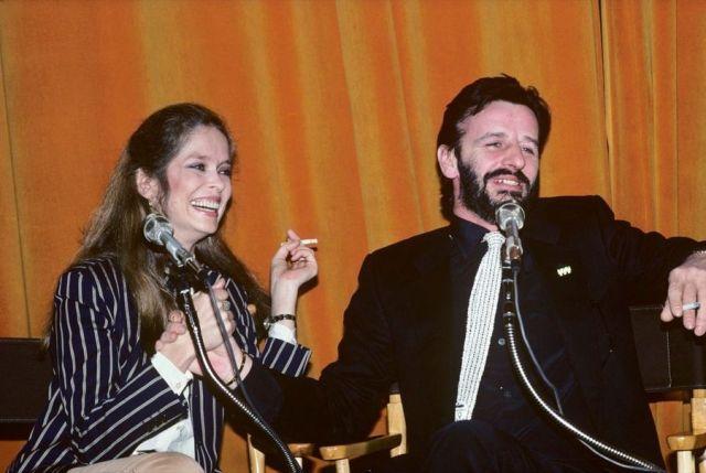 Ringo Starr Barbara Bach Mariage 1981 Photos 7