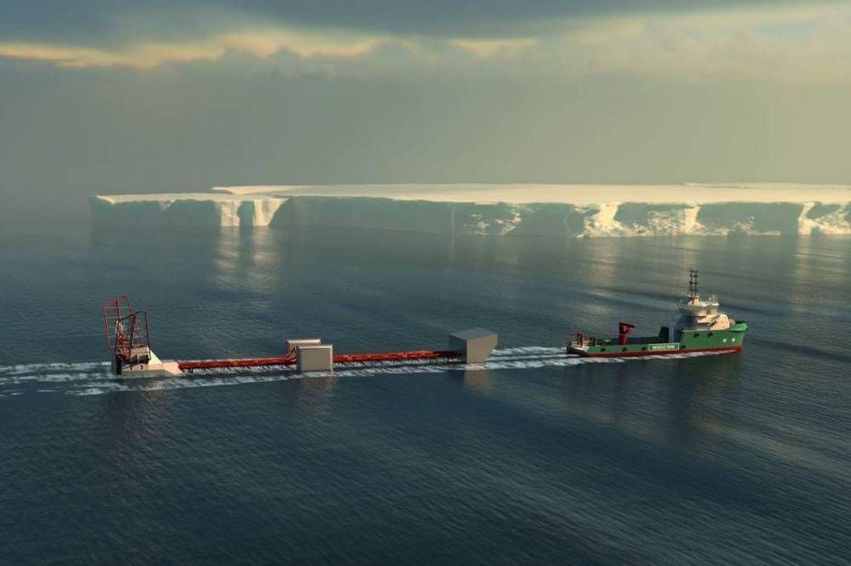 un bateau vertical pour étudier l'océan austral