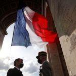 Emmanuel Macron commémore la Victoire du 8 mai 1945