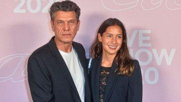 «Je m'en fous», Marc Lavoine se lâche sur sa relation avec la romancière Line Papin