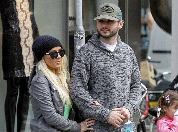 Photos  Christina Aguilera  elle dvalise les boutiques avec son boyfriend  Amsterdam