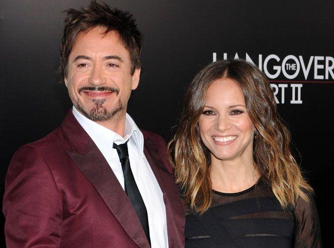 Robert Downey Jr  sa femme est enceinte