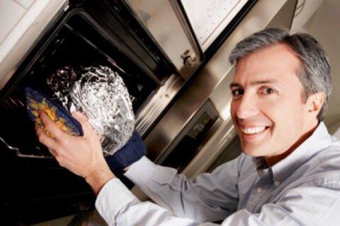 i put aluminum foil in the microwave