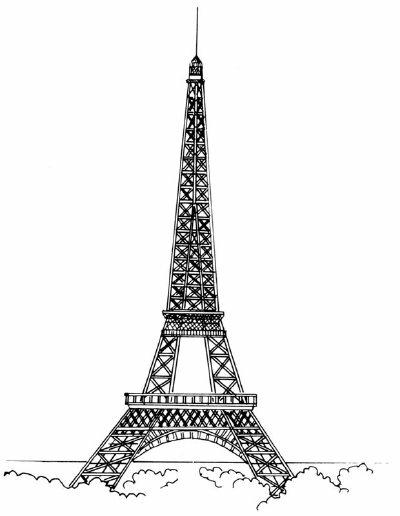 Simple Eiffel Tower Drawing : simple, eiffel, tower, drawing, Triangle, Eiffel, Tower, HowStuffWorks