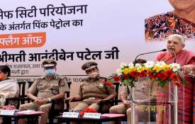Women Saftey in Lucknow: Anandiben flags off pink patrol.  Now 'manchalas' are not happy in Lucknow, Governor- India TV Hindi