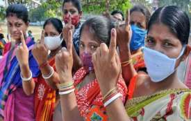 Assembly Elections 2021: 73.03 per cent polling registered in Assam, 80.43 per cent in Bengal- India TV Hindi