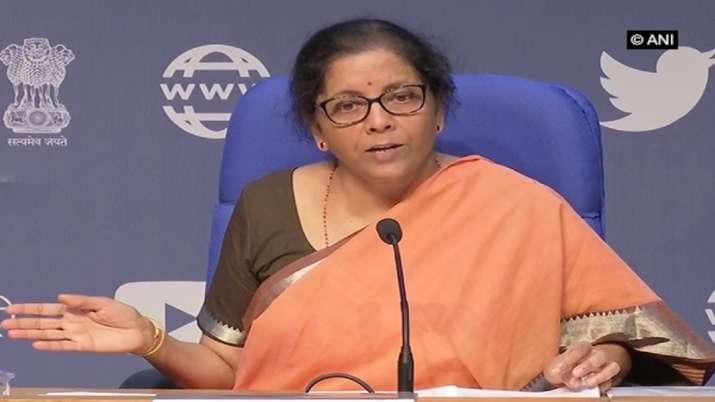 Finance Minister Nirmala Sitharaman, GST Council Meeting- India TV Paisa