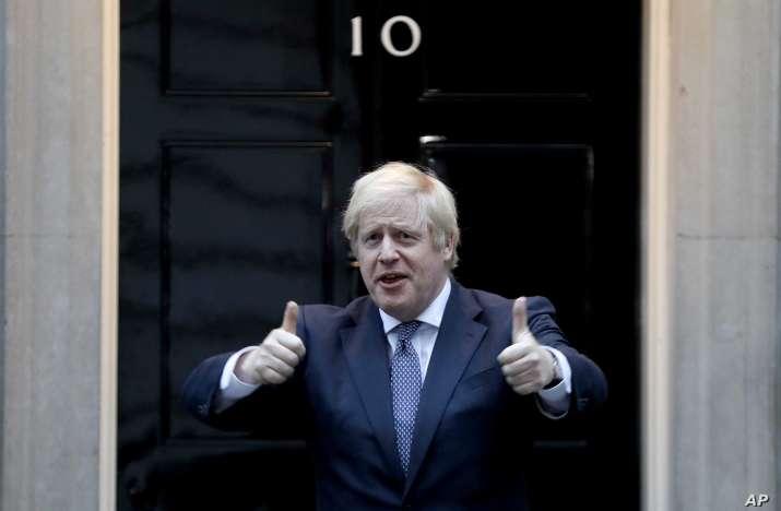 british prime minister johnson announced to donate 100 million doses of corona vaccine