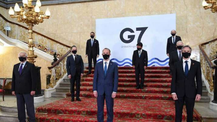 G-7 leaders pledge to donate one billion doses of anti-coronavirus vaccines