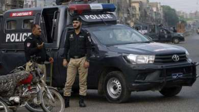 Policemen were returning home after getting polio vaccination, gunmen fired with bullets