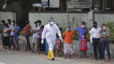 Corona wreaks havoc on India's neighboring country, record deaths in one day