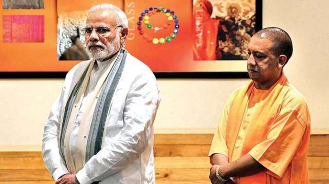 PM Modi praised Yogi Adityanath government's work, claimed to save 85 thousand lives from Corona- India TV Hindi