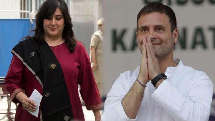 राहुल गांधी की शेर-ओ-शायरी पर बांसुरी स्वराज का जवाब, 'कुछ नया कहिये' - India TV Hindi
