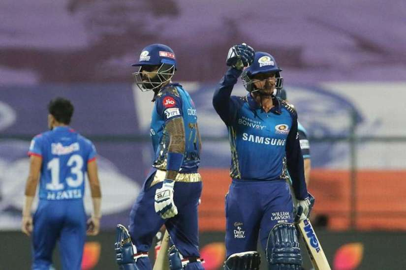 DC vs MI, IPL, IPL 2020, Mumbai Indians vs Delhi capitals, Suryakumar,  Dickock- India TV Hindi