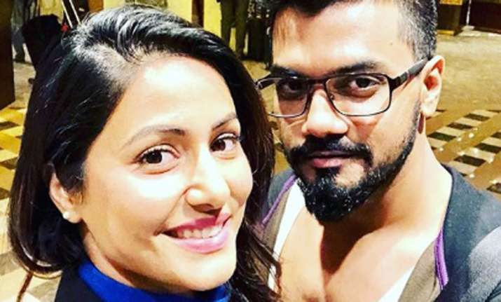 Pic: Hina Khan's beloved Rocky Jaiswal lauds her for