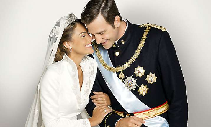 Raja Felipe of Asturias dan Letizia.