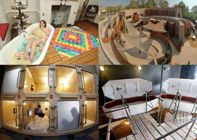 Top 10 Weirdest Hotels In The World