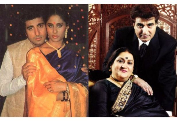 Image result for Raj Babbar married Nadira Zaheer and then married with Smita Patil.