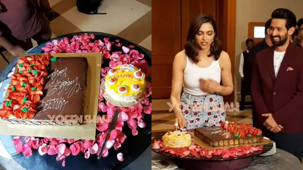 Deepika Padukone S Pre Birthday Celebration With Paparazzi Is All About Fun Check Videos Celebrities News India Tv