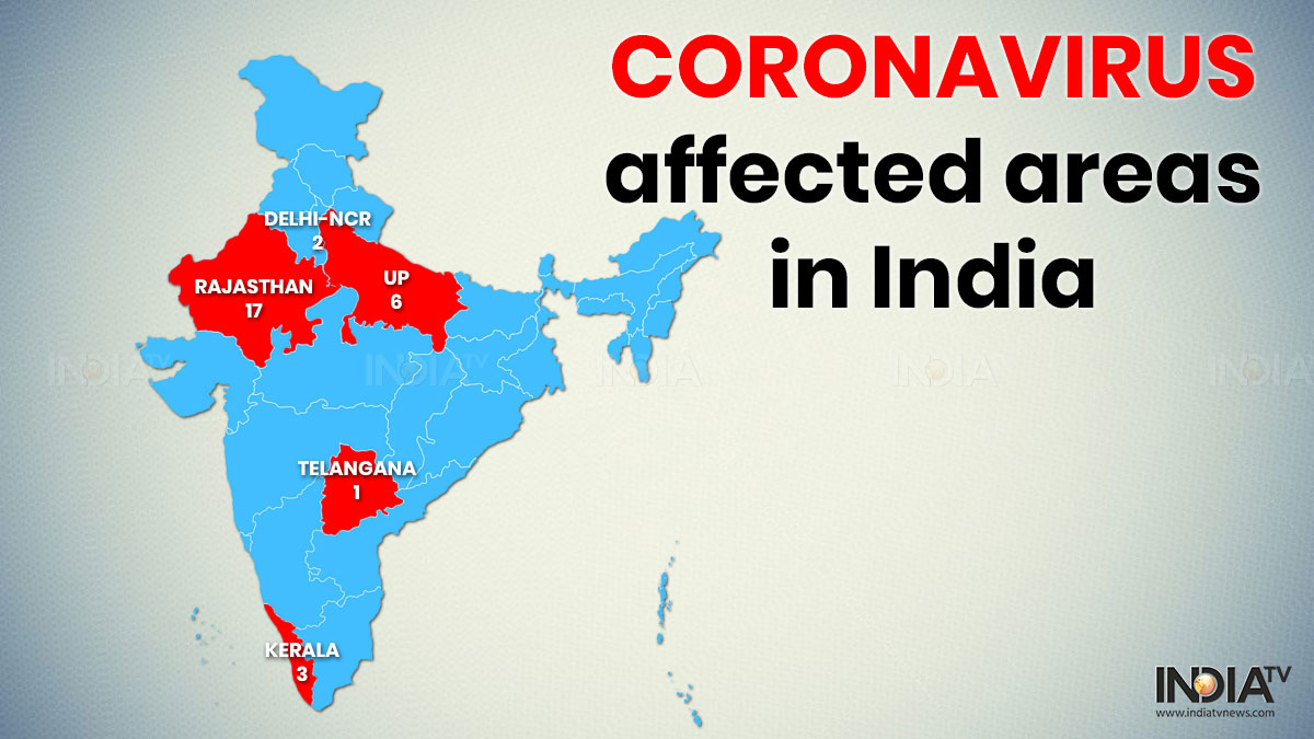 In Maps: As new coronavirus cases emerge, know the current ...