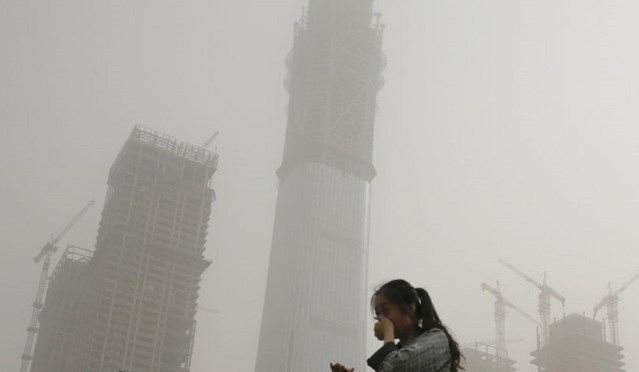 Beijing sandstorm today Beijing sandstorm pictures images video China air  pollution | World News – India TV