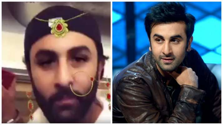 Ranbir Kapoor tries Snapchat filter and it will leave you splits   Celebrities News – India TV