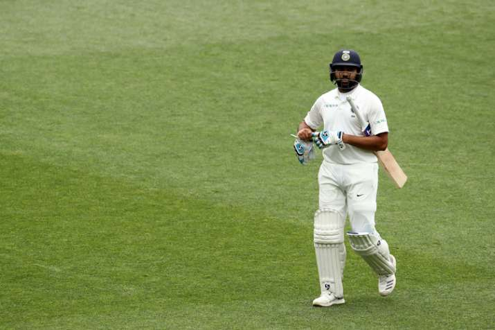 India Tv - Rohit Sharma scored 38 runs in a initial Test