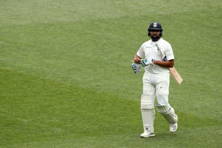 India Tv - Rohit Sharma scored 38 runs in a initial Test