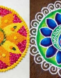 also super simple rangoli designs to make your diwali  extra rh indiatvnews