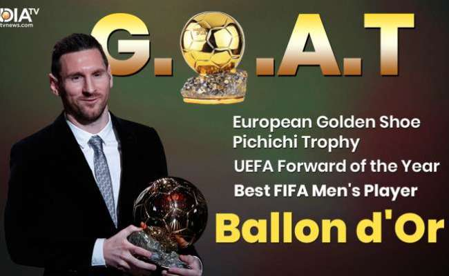 Lionel Messi Wins Ballon D Or 2019 Why He Deserved The