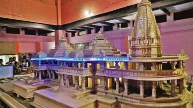 Ram Mandir in Ayodhya to be 161-feet tall, to cost around Rs 300 ...