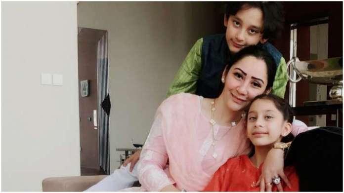 Sanjay Dutt's wife Manyata celebrates Eid with kids
