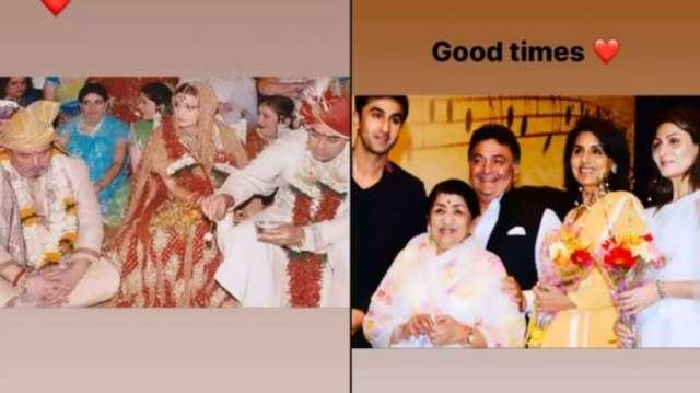 India Tv - Rishi Kapoor trained wife Neetu 'well' in scrabble, Riddhima Kapoor shares photo