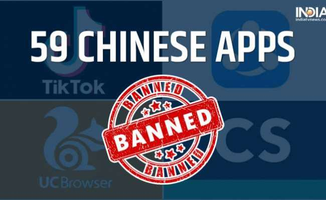 Tiktok Camscanner Among 59 Chinese Apps Banned In India