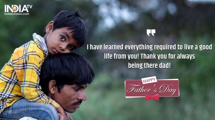 Happy Father's Day 2020: Wishes, WhatsApp messages, greetings, quotes, photos, HD images 1