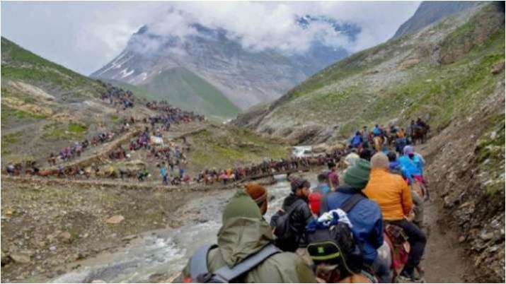 Amarnath Yatra: Maximum of 500 yatris can be allowed consistent with day from Jammu by way of highway