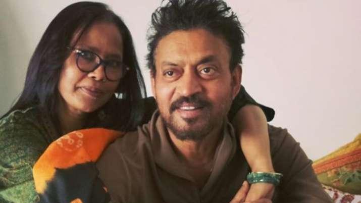 Irrfan Khan's wife Sutapa Sikdar shares heartbreaking post remembering the actor
