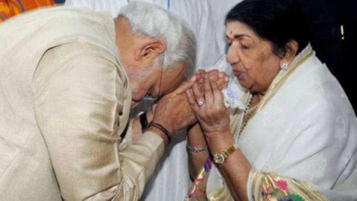 Lata Mangeshkar wishes PM Modi on Raksha Bandhan, later says her message an 'inspiration'