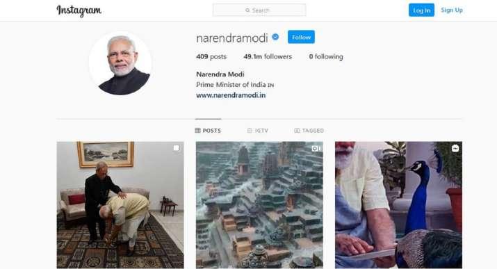 India Tv - Modi Instagram followers