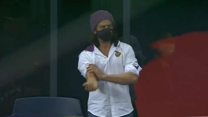 IPL 2020: SRK trends on Twitter after seen supporting KKR in Dubai   Cricket News – India TV