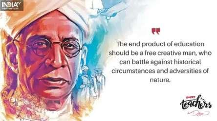 Happy Teacher s Day 2020: 10 Quotes by Dr Sarvepalli Radhakrishnan to recall today People News India TV
