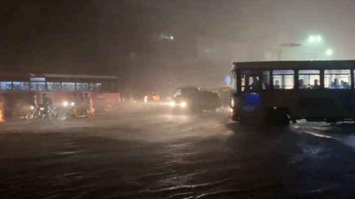 Hyderabad, torrential rains