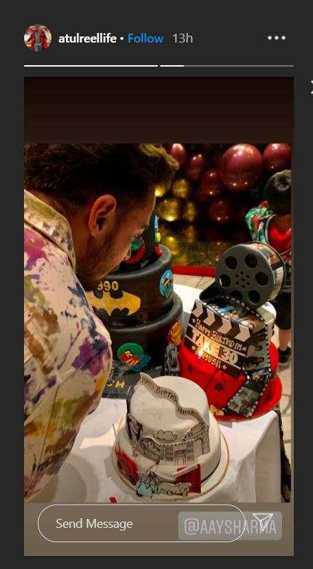 India Tv - Salman Khan's brother-in-law Aayush Sharma's birthday bash was LIT. See pics