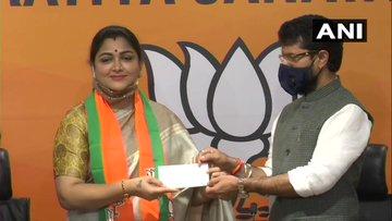 Kushboo Sundar joins bjp, Kushboo Sundar bjp, Kushboo Sundar congress, Kushboo Sundar, Kushboo Sunda